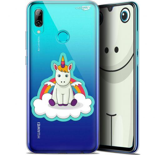 """Coque Crystal Gel Huawei P Smart 2019 (6.21"""") Extra Fine Motif -  Bébé Licorne"""