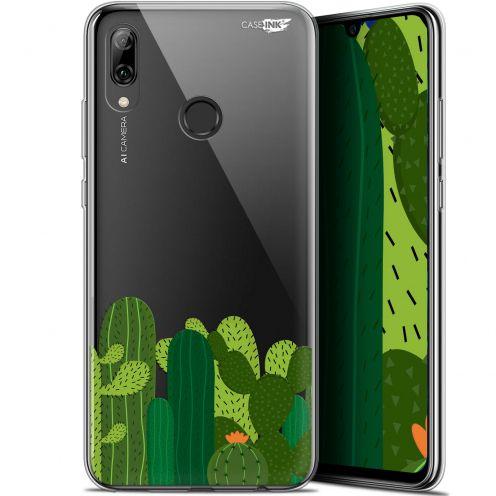 "Coque Crystal Gel Huawei P Smart 2019 (6.21"") Extra Fine Motif - Cactus"