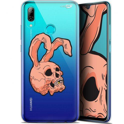 "Coque Crystal Gel Huawei P Smart 2019 (6.21"") Extra Fine Motif -  Rabbit Skull"