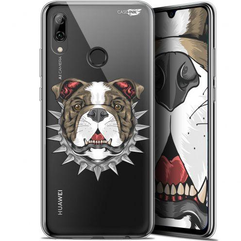 "Coque Crystal Gel Huawei P Smart 2019 (6.21"") Extra Fine Motif -  Doggy"