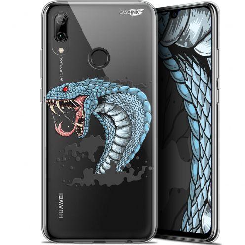 "Coque Crystal Gel Huawei P Smart 2019 (6.21"") Extra Fine Motif -  Cobra Draw"