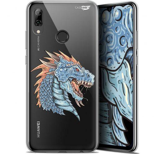 "Coque Crystal Gel Huawei P Smart 2019 (6.21"") Extra Fine Motif - Dragon Draw"