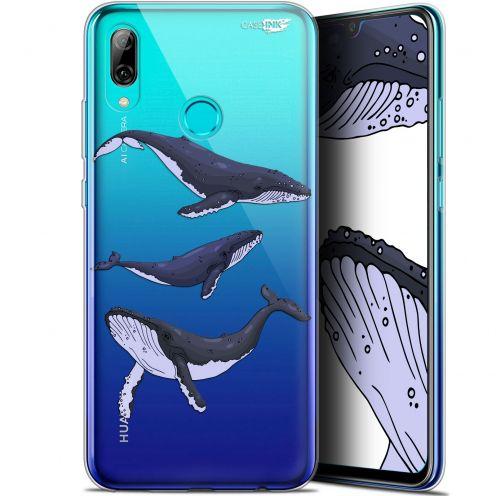 "Coque Crystal Gel Huawei P Smart 2019 (6.21"") Extra Fine Motif - Les 3 Baleines"