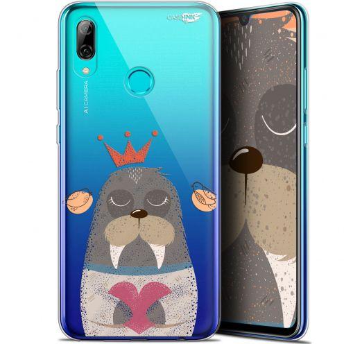 "Coque Crystal Gel Huawei P Smart 2019 (6.21"") Extra Fine Motif - Sketchy Walrus"