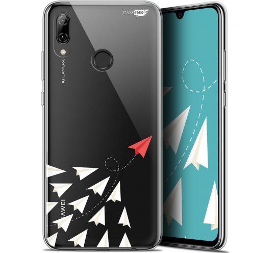 "Coque Crystal Gel Huawei P Smart 2019 (6.21"") Extra Fine Motif - Papier Volant"