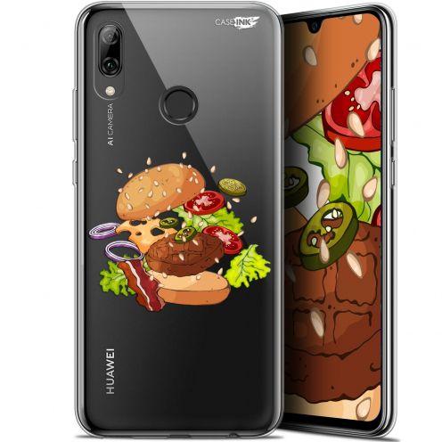 "Coque Crystal Gel Huawei P Smart 2019 (6.21"") Extra Fine Motif -  Splash Burger"