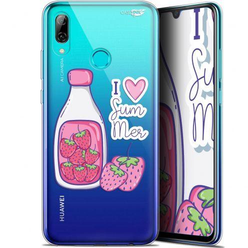 "Coque Crystal Gel Huawei P Smart 2019 (6.21"") Extra Fine Motif -  Milky Summer"
