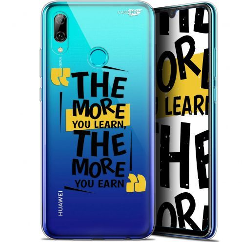 """Coque Crystal Gel Huawei P Smart 2019 (6.21"""") Extra Fine Motif -  The More You Learn"""