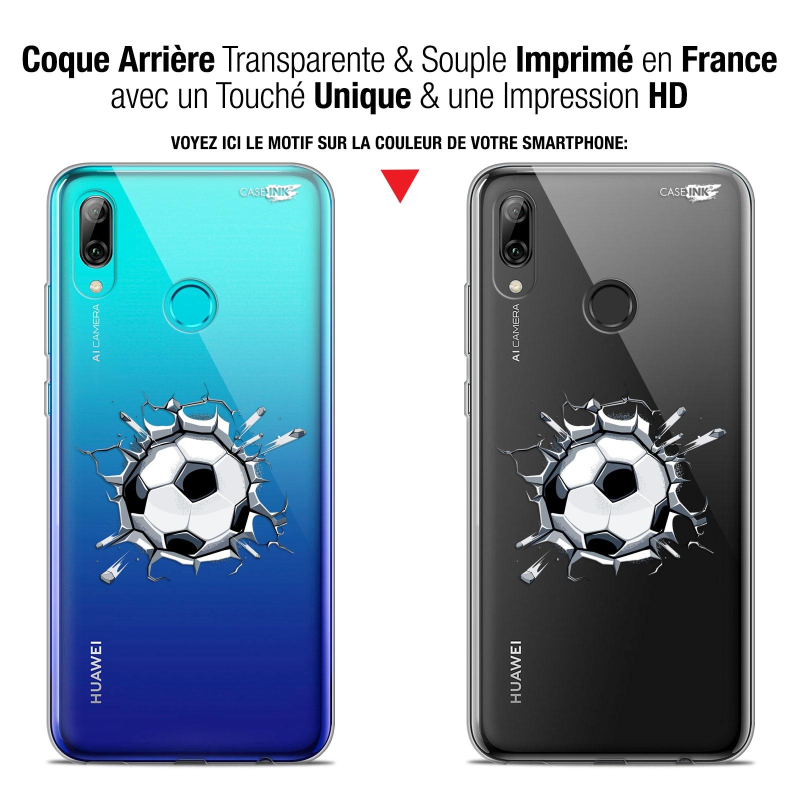 Coque Crystal Gel Huawei P Smart 2019 (6.21