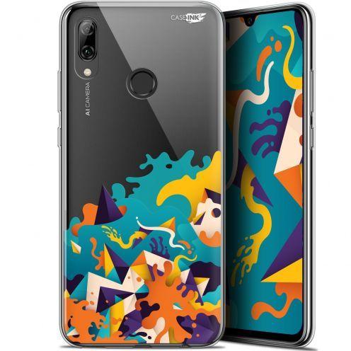 "Coque Crystal Gel Huawei P Smart 2019 (6.21"") Extra Fine Motif - Les Vagues"