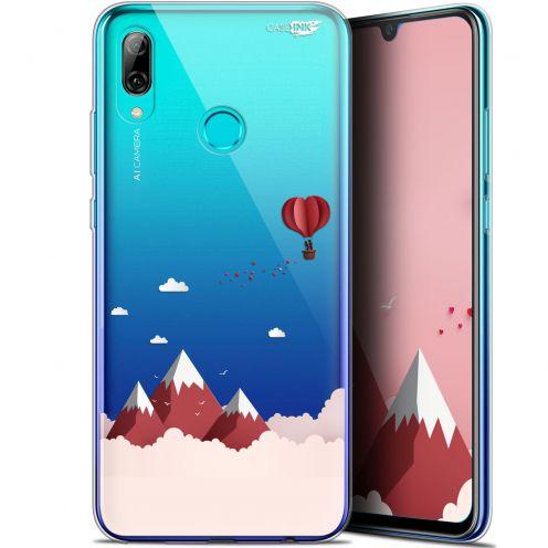 """Coque Crystal Gel Huawei P Smart 2019 (6.21"""") Extra Fine Motif - Montagne En Montgolfière"""