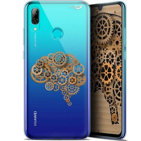 "Coque Crystal Gel Huawei P Smart 2019 (6.21"") Extra Fine Motif - Mécanismes du Cerveau"