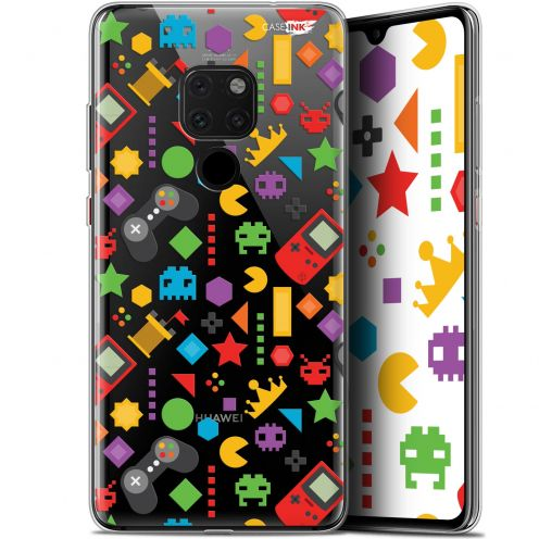 "Coque Crystal Gel Huawei Mate 20 (6.5"") Extra Fine Motif - PacMan"