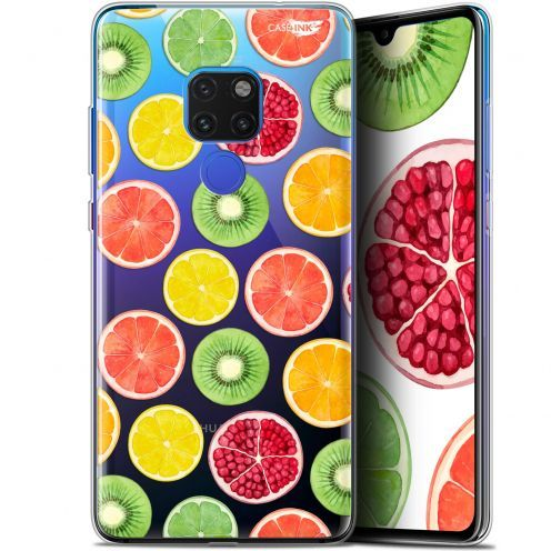 "Coque Crystal Gel Huawei Mate 20 (6.5"") Extra Fine Motif -  Fruity Fresh"