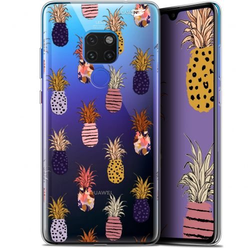 "Coque Crystal Gel Huawei Mate 20 (6.5"") Extra Fine Motif -  Ananas Gold"