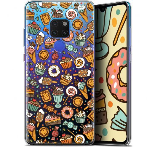 "Coque Crystal Gel Huawei Mate 20 (6.5"") Extra Fine Motif -  Bonbons"
