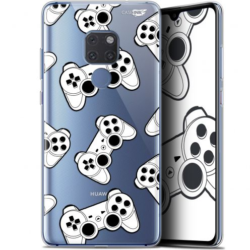 "Coque Crystal Gel Huawei Mate 20 (6.5"") Extra Fine Motif - Game Play Joysticks"