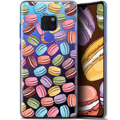 "Coque Crystal Gel Huawei Mate 20 (6.5"") Extra Fine Motif -  Macarons"
