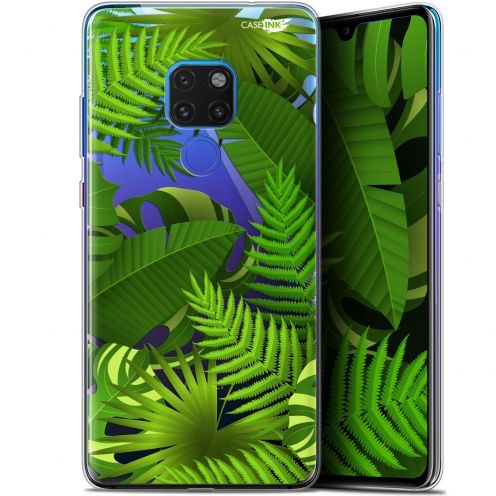 "Coque Crystal Gel Huawei Mate 20 (6.5"") Extra Fine Motif -  Plantes des Tropiques"