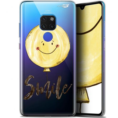 "Coque Crystal Gel Huawei Mate 20 (6.5"") Extra Fine Motif -  Smile Baloon"