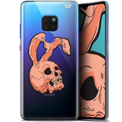 "Coque Crystal Gel Huawei Mate 20 (6.5"") Extra Fine Motif - Rabbit Skull"