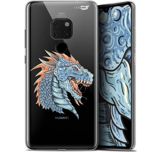"Coque Crystal Gel Huawei Mate 20 (6.5"") Extra Fine Motif - Dragon Draw"