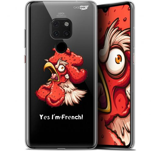 "Coque Crystal Gel Huawei Mate 20 (6.5"") Extra Fine Motif -  I'm French Coq"