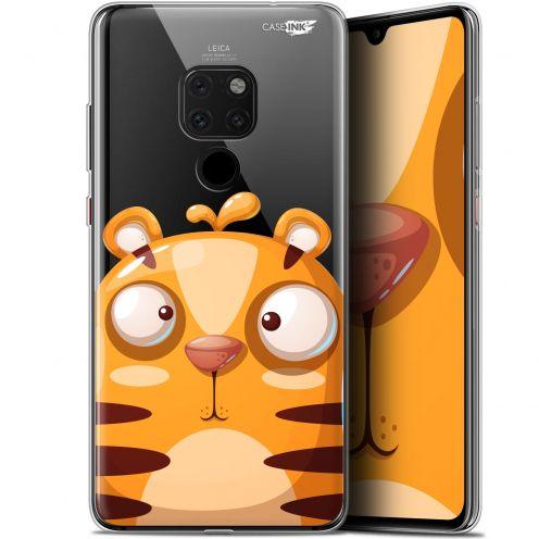 "Coque Crystal Gel Huawei Mate 20 (6.5"") Extra Fine Motif -  Cartoon Tiger"