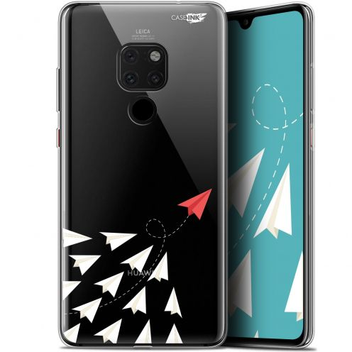 "Coque Crystal Gel Huawei Mate 20 (6.5"") Extra Fine Motif -  Papier Volant"