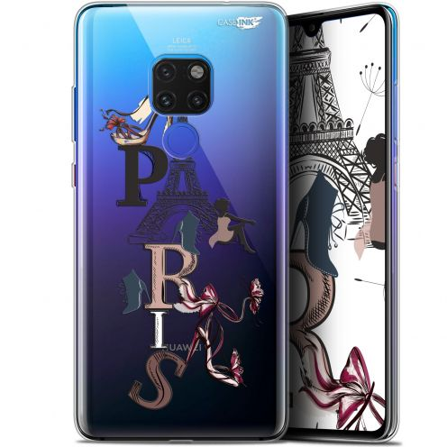 "Coque Crystal Gel Huawei Mate 20 (6.5"") Extra Fine Motif -  Stylish Paris"