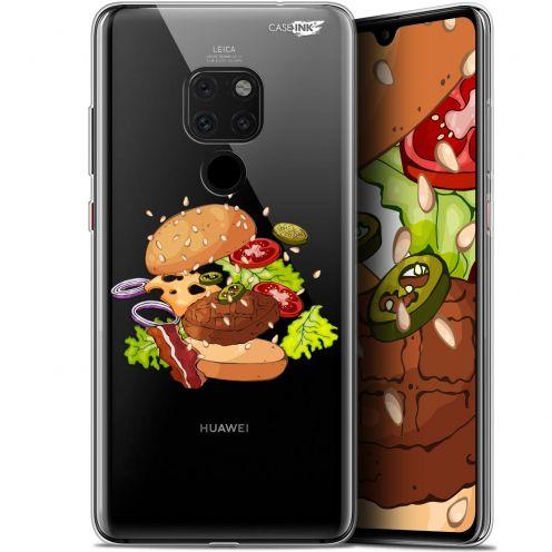 "Coque Crystal Gel Huawei Mate 20 (6.5"") Extra Fine Motif -  Splash Burger"