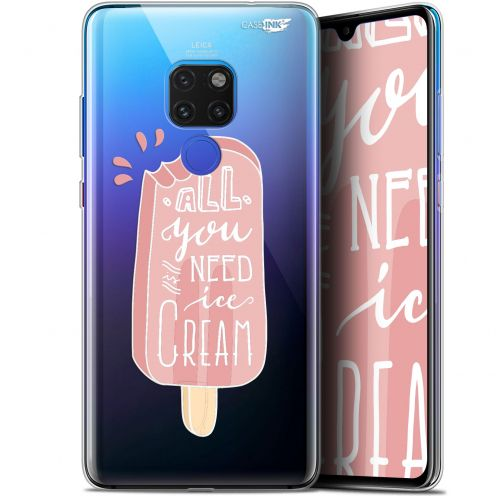 "Coque Crystal Gel Huawei Mate 20 (6.5"") Extra Fine Motif - Ice Cream"