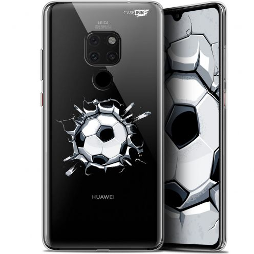 "Coque Crystal Gel Huawei Mate 20 (6.5"") Extra Fine Motif - Le Balon de Foot"