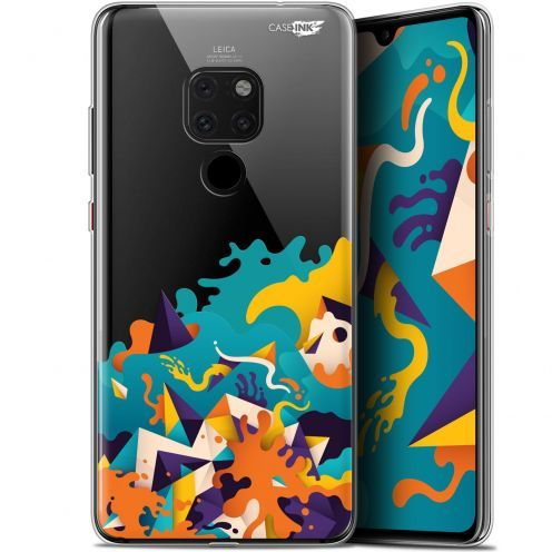 "Coque Crystal Gel Huawei Mate 20 (6.5"") Extra Fine Motif -  Les Vagues"