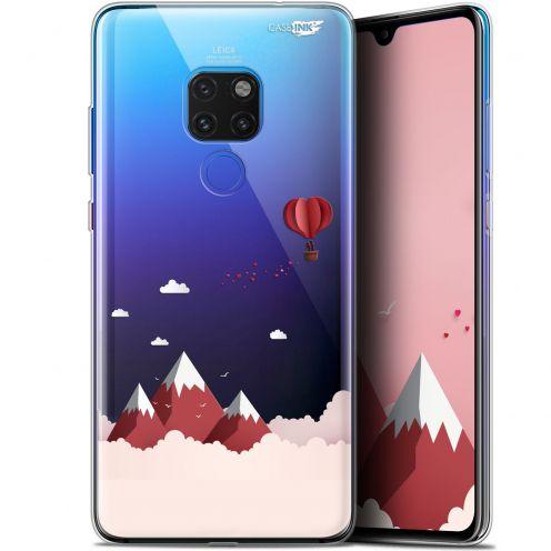 """Coque Crystal Gel Huawei Mate 20 (6.5"""") Extra Fine Motif -  Montagne En Montgolfière"""