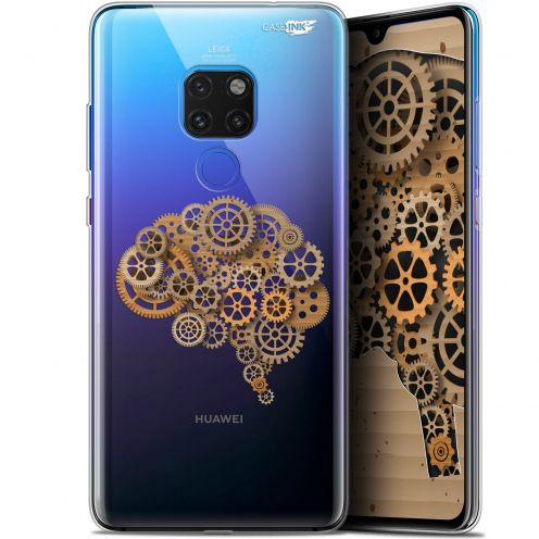 "Coque Crystal Gel Huawei Mate 20 (6.5"") Extra Fine Motif -  Mécanismes du Cerveau"