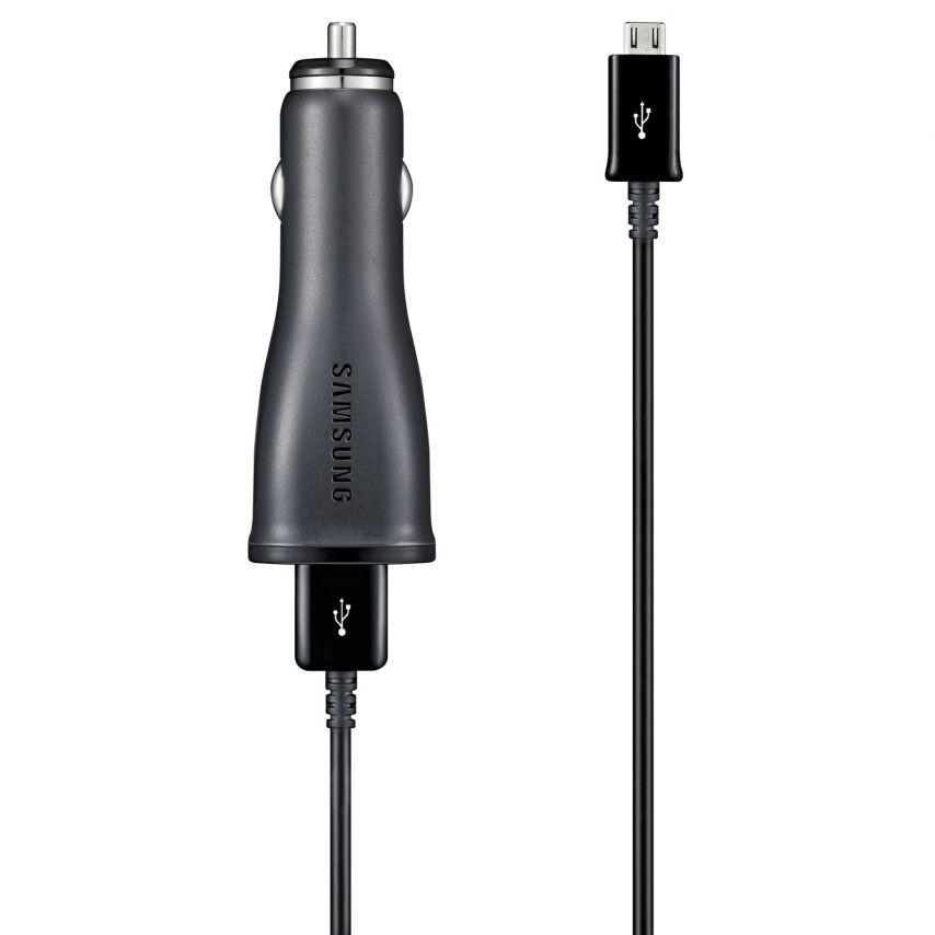 Chargeur Voiture Allume Cigare Samsung® ECA-U21CBE 10W/2A + Câble Micro USB
