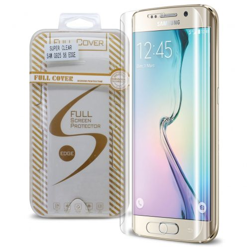 Protection d'écran Verre trempé Samsung Galaxy S6 Edge Full Cover Ultra Clear – 9H HD 0.33mm 2.5D