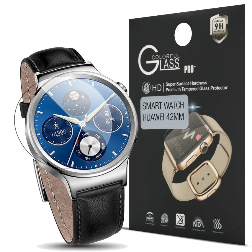 Protection d'écran Verre trempé Huawei Watch 42mm - 9H Glass Pro+ HD 0.33mm 2.5D