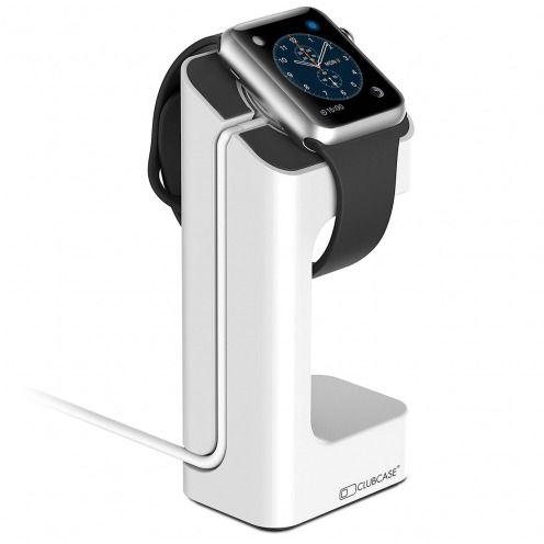 Support de bureau pour Apple Watch 38/42 mm blanc laqué