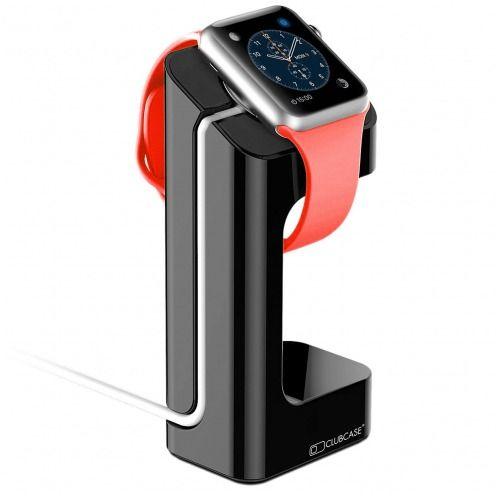 Support de bureau pour Apple Watch 38/42 mm Noir laqué