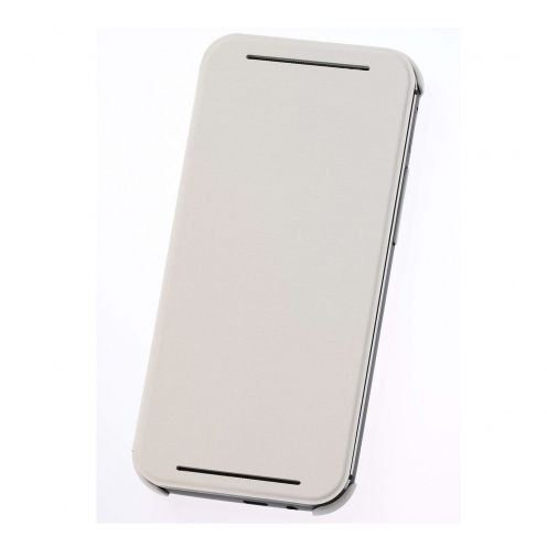 Coque Flip Cover Origine HTC One M8 Blanc