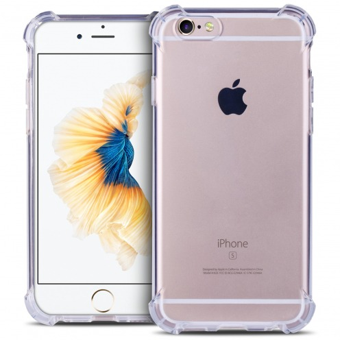Coque Apple iPhone 6/6s Antichocs Souple SafeGuard Crystal