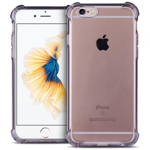 Coque Apple iPhone 6/6s Antichocs Souple SafeGuard Crystal Fumé