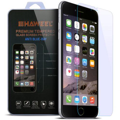 Protection d'écran Verre trempé Apple iPhone 6/6s - 9H Anti Blue Ray HD 0.33mm 2.5D