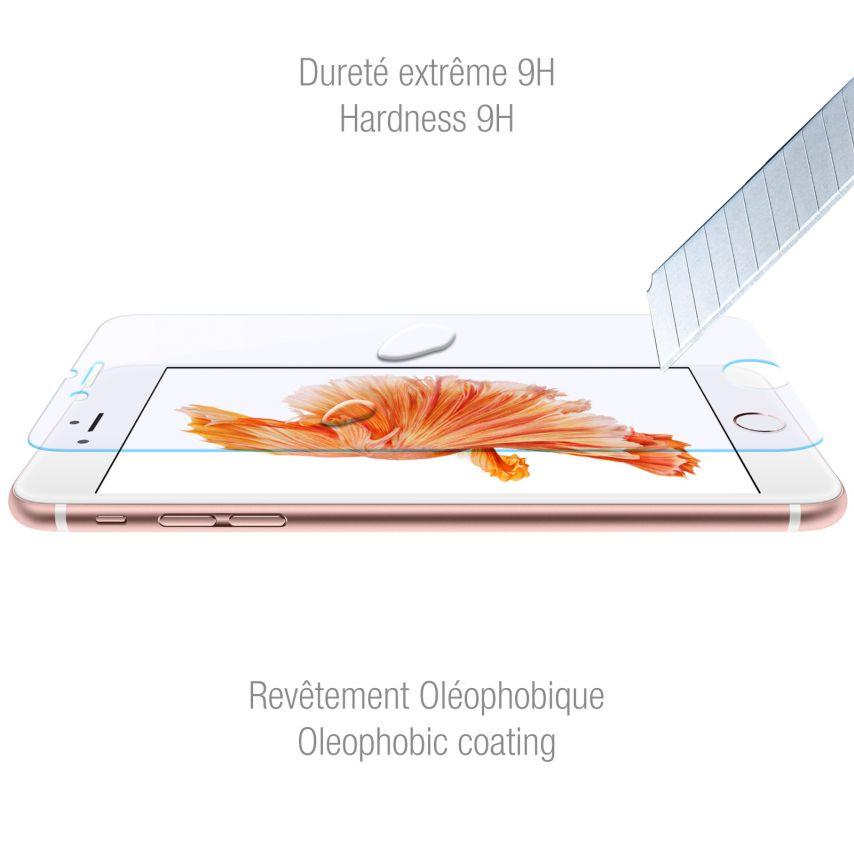 Protection d'écran Verre trempé Apple iPhone 6/6s Plus 5.5 - 9H Anti Blue Ray HD 0.33mm 2.5D