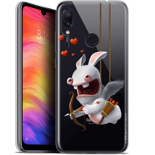 """Coque Gel Xiaomi Redmi Note 7 (6.3"""") Extra Fine Lapins Crétins™ - Flying Cupidon"""
