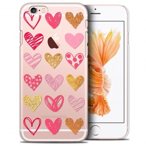 Coque Crystal iPhone 6/6s Plus 5.5 Extra Fine Sweetie - Doodling Hearts