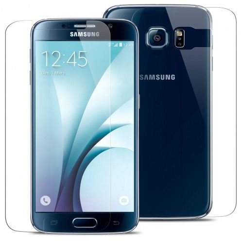 Pack écran Verre trempé Avant + Arrière Samsung Galaxy S6 - 9H Glass Pro+ HD 0.33mm 2.5D