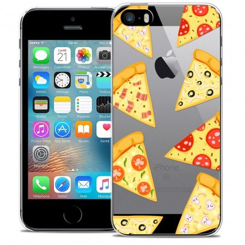 Coque Crystal iPhone 5/5s/SE Extra Fine Foodie - Pizza
